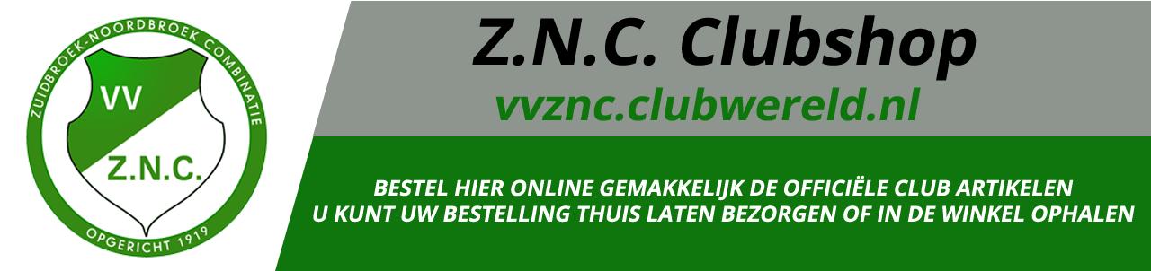 ZNC Webshop