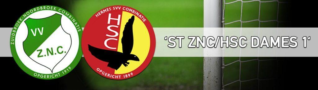 Gecombineerde damesteam ZNC/HSC stopt al na 1 seizoen